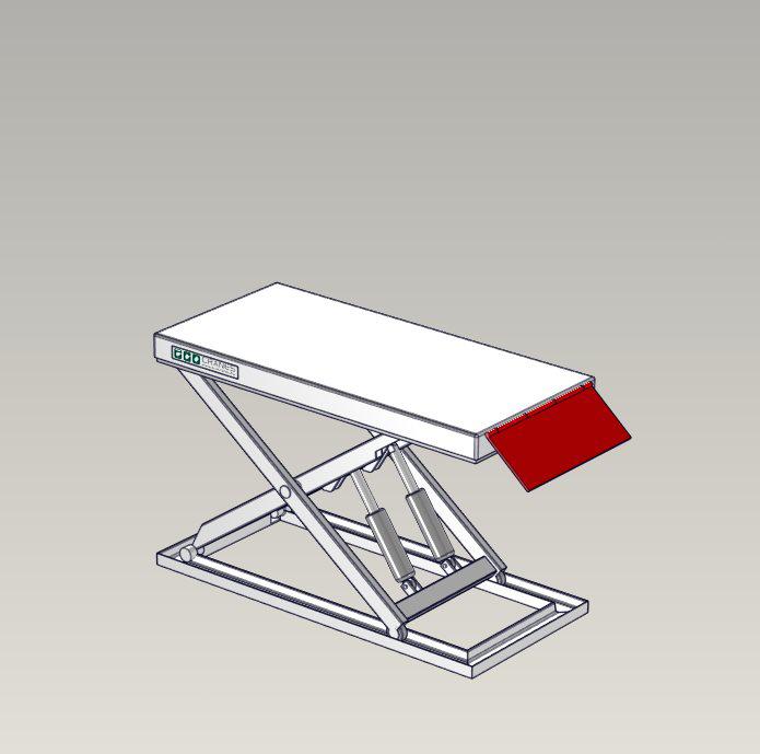 Emelőasztal extrák - 04 Loading-Flap