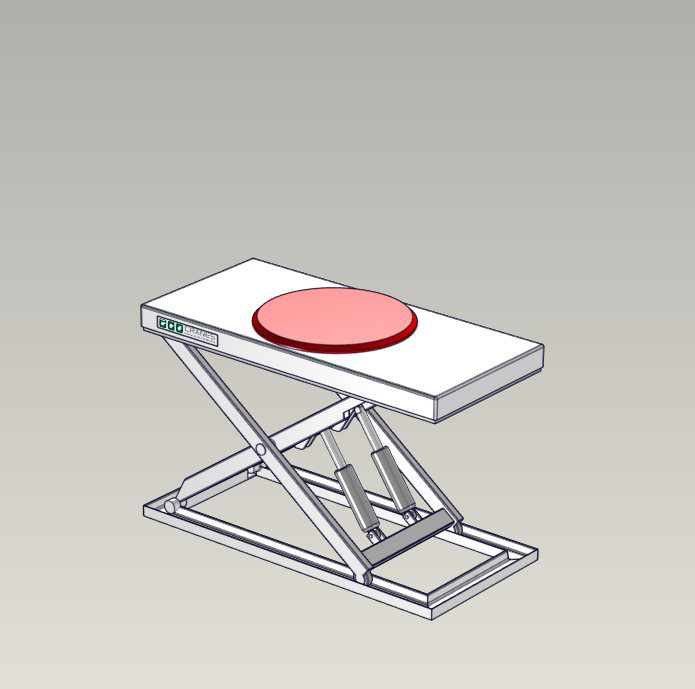 Emelőasztal extrák - 05 Circular-turntable