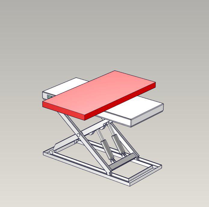 Emelőasztal extrák - 06 Rectangular-turntable