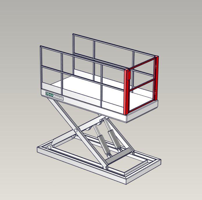 Emelőasztal extrák - 11 Self-Latching-Hinged-Swing-Gate