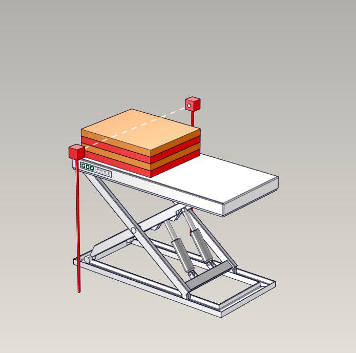 Emelőasztal extrák - 13 Stack-Height-Control-System
