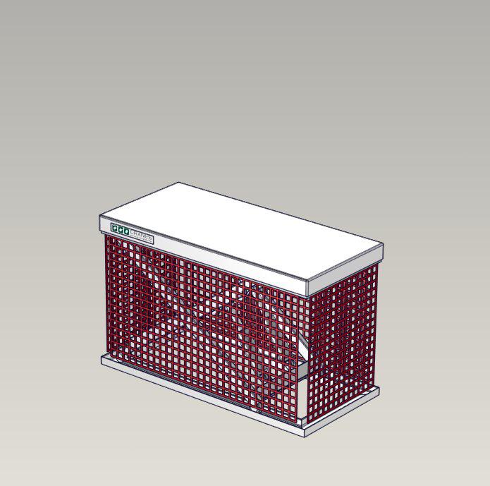 Emelőasztal extrák - 14 Chain-mesh