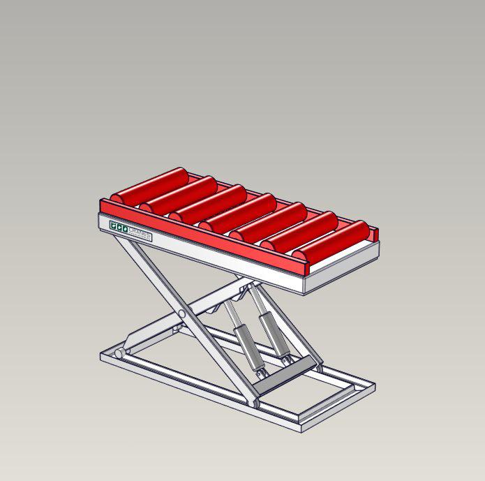 Emelőasztal extrák - 16 Roller-Bed