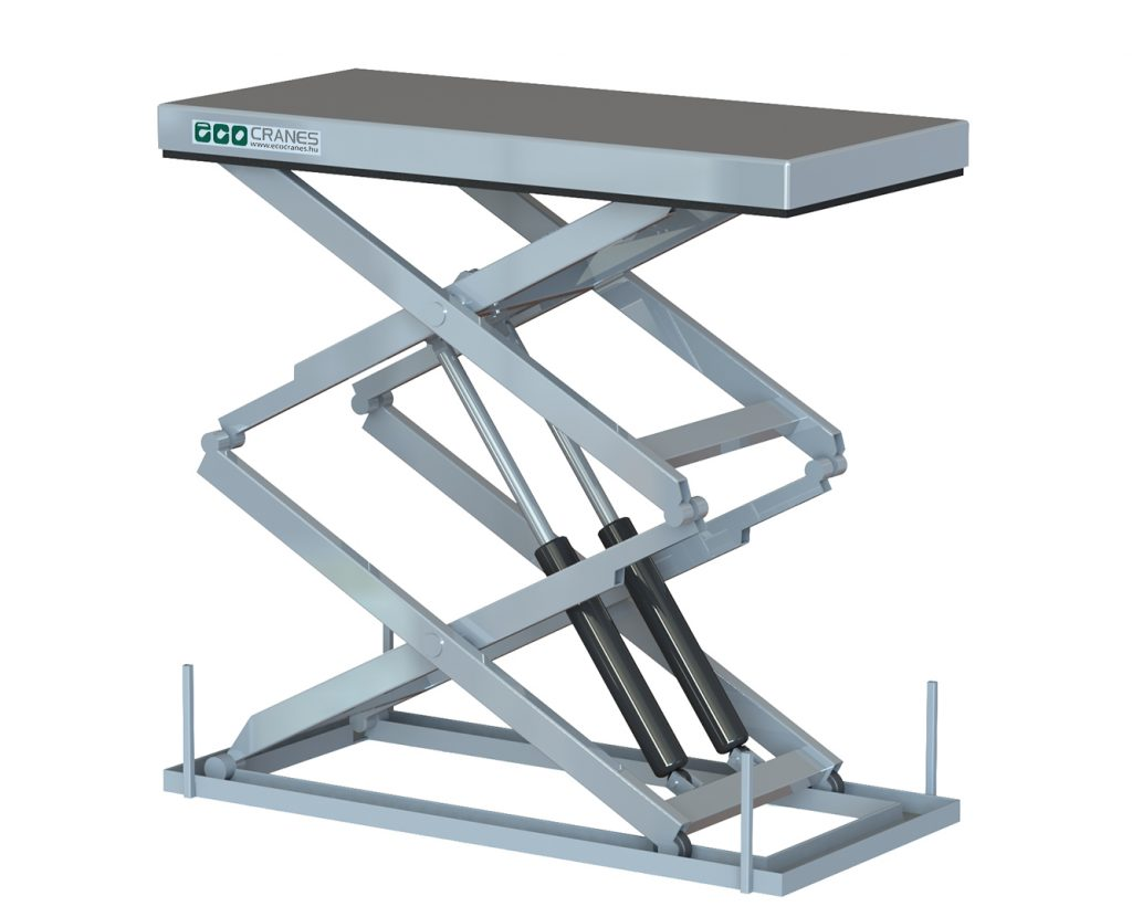 Magas emelésű emelőasztal - Eco.Cranes