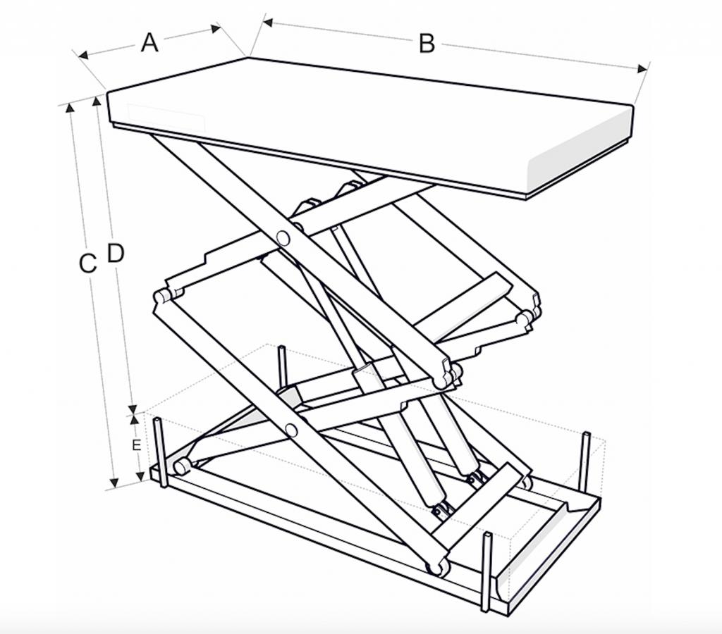 Magas emelésű emelőasztal méretek - Eco-Cranes