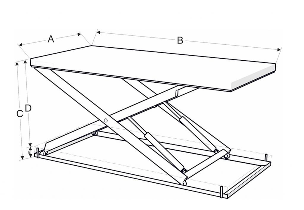 Autós emelőasztal méretek - Eco-Cranes