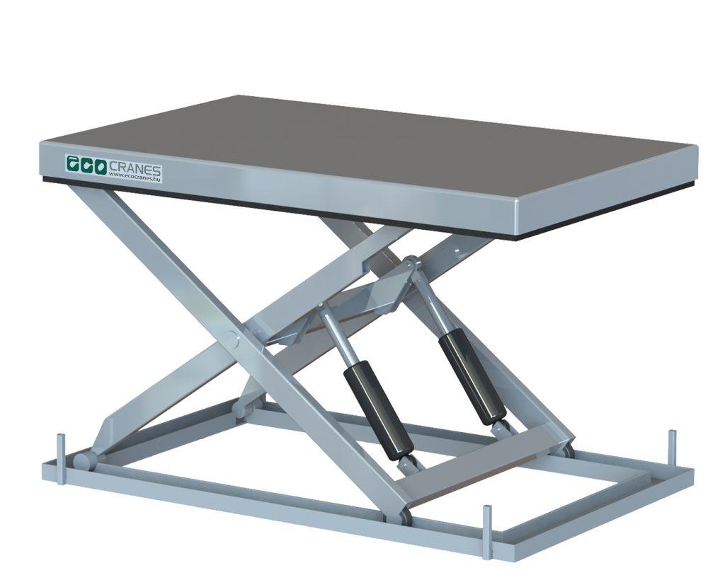 Rakodó dokkoló emelőasztal rögzíthető - Eco-Cranes