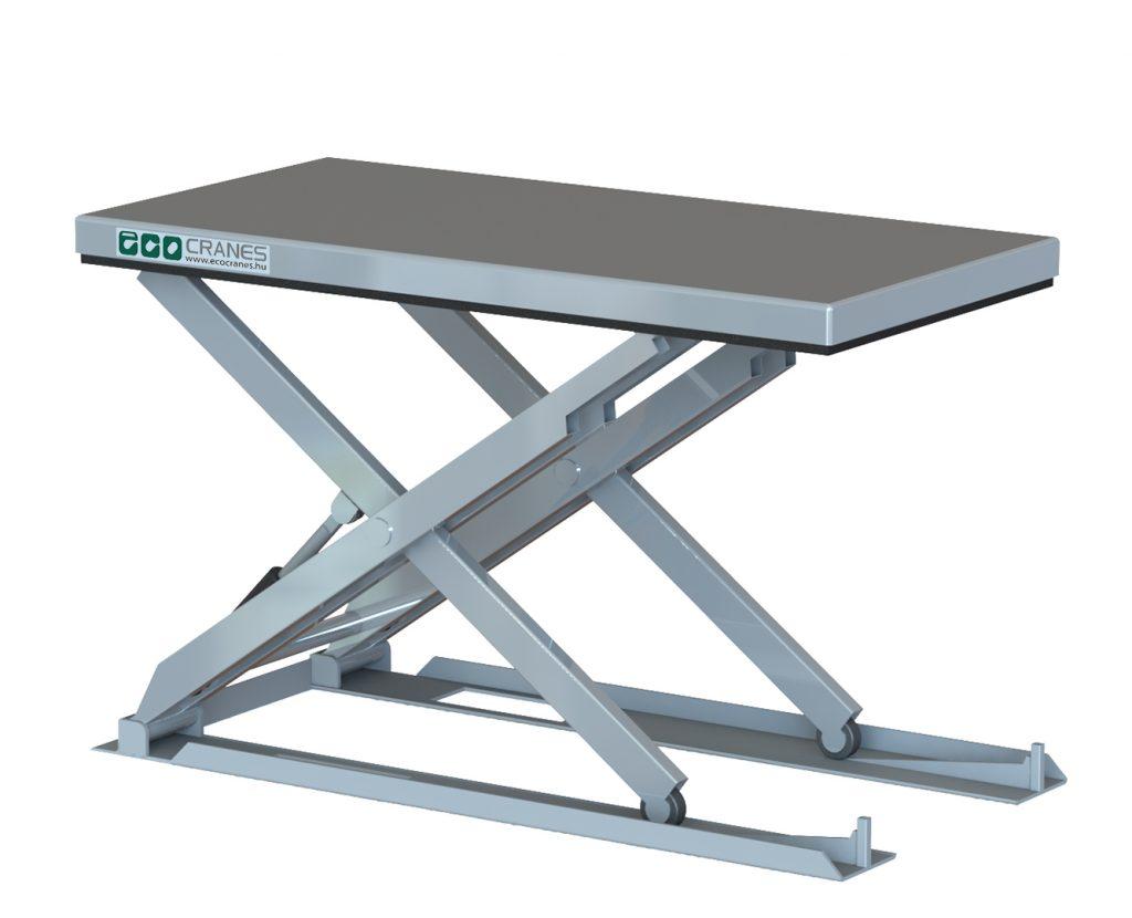 Alacsony építésű emelőasztal - Eco-Cranes