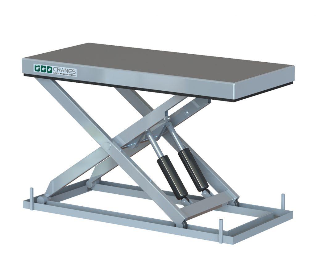 Egyollós emelőasztal - Eco-Cranes