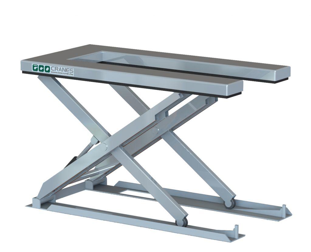 U-alakú emelőasztal - Eco-Cranes