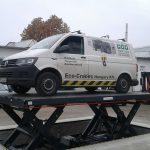 Eco-Cranes hidraulikus ollósemelők - autóemelő