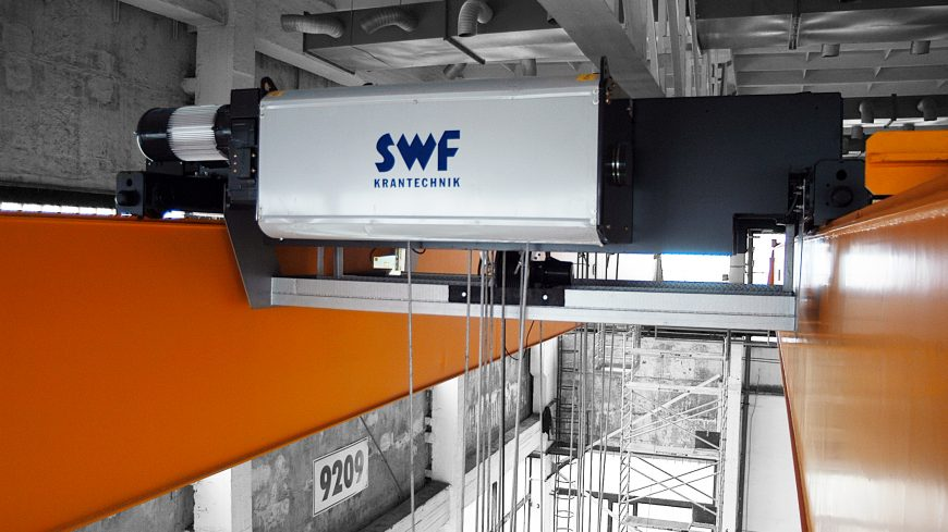 Partnerünk, az SWF Krantechnik GmbH.