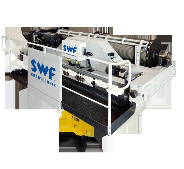 SWF villamos, sodronyköteles emelődobok