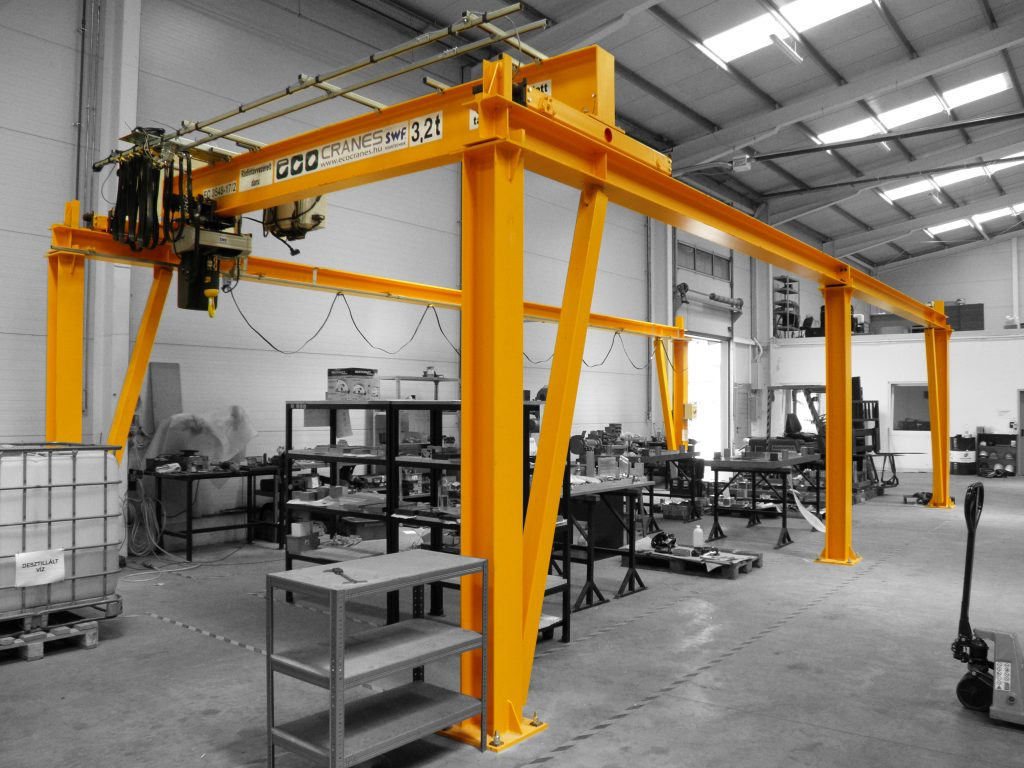 Portáldaru rendszerek - Eco-Cranes