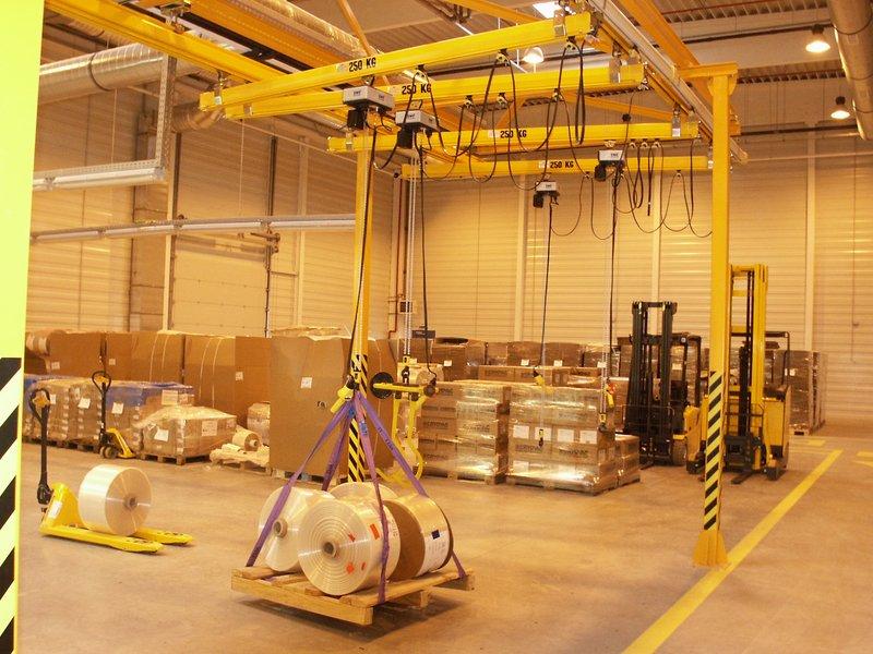 A nyugodt, biztonságos anyagmozgatás záloga: a daruk rendszeres vizsgálata