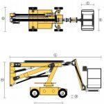Önjáró szerelőállvány - AD.13 - Eco-Cranes